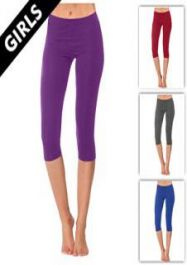 Girls Capri Legging