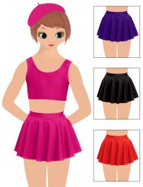 Girls Skater Skirt