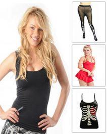 Halloween Vest and Leggings