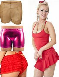 Vests, Tops and Hot Pants