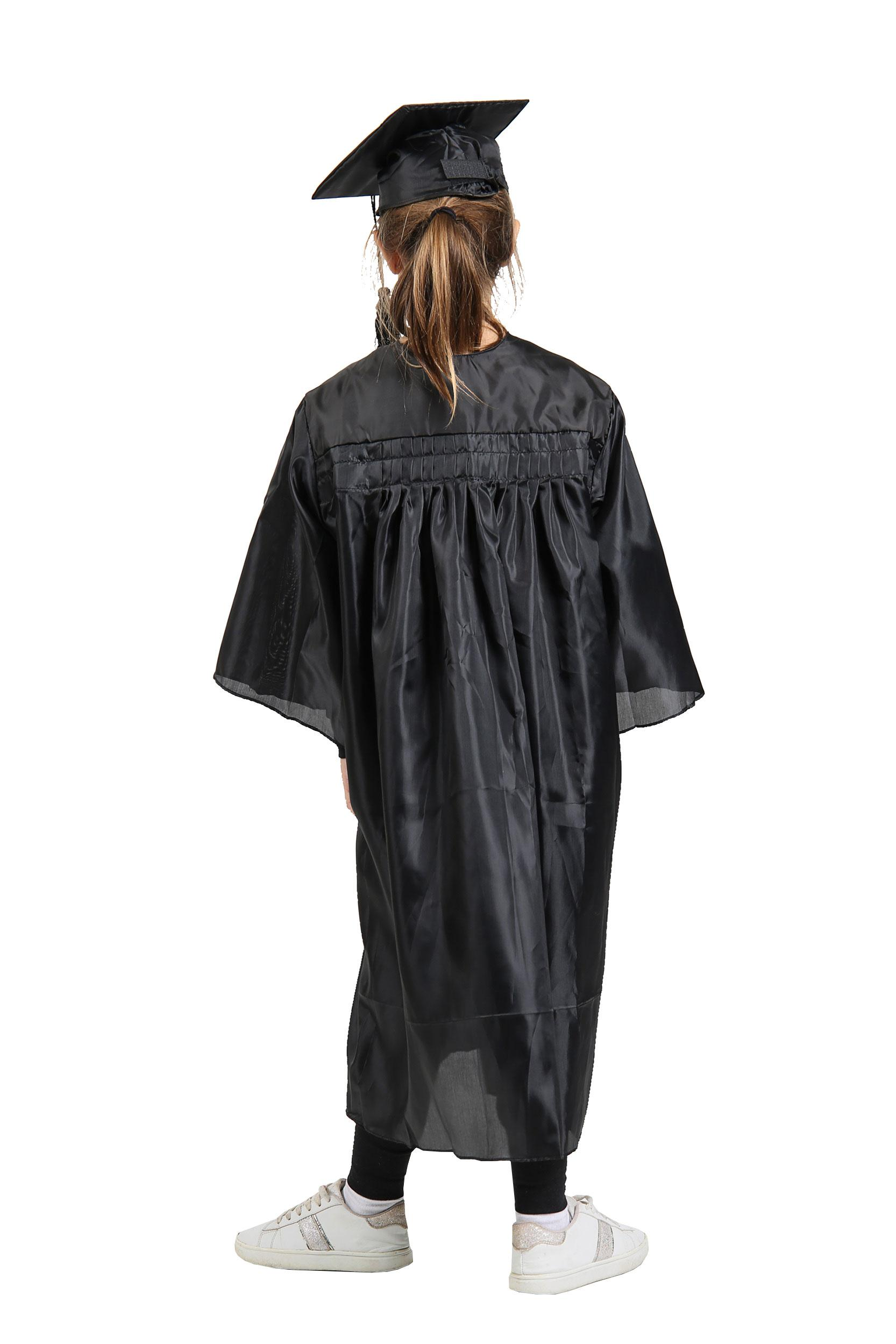 Children's Primary School Graduation Gown and Cap