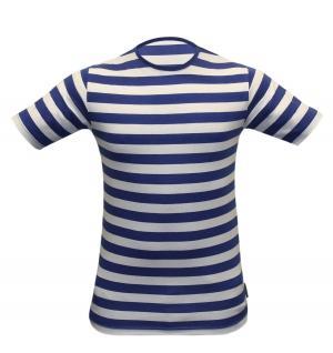 Children Blue & White Stripe T-Shirt