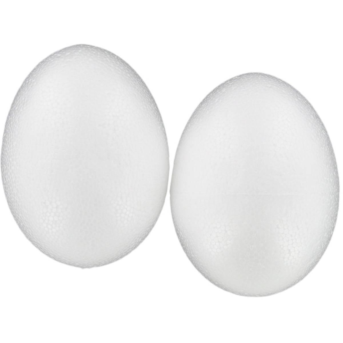 14cm Foam Egg 2Pk