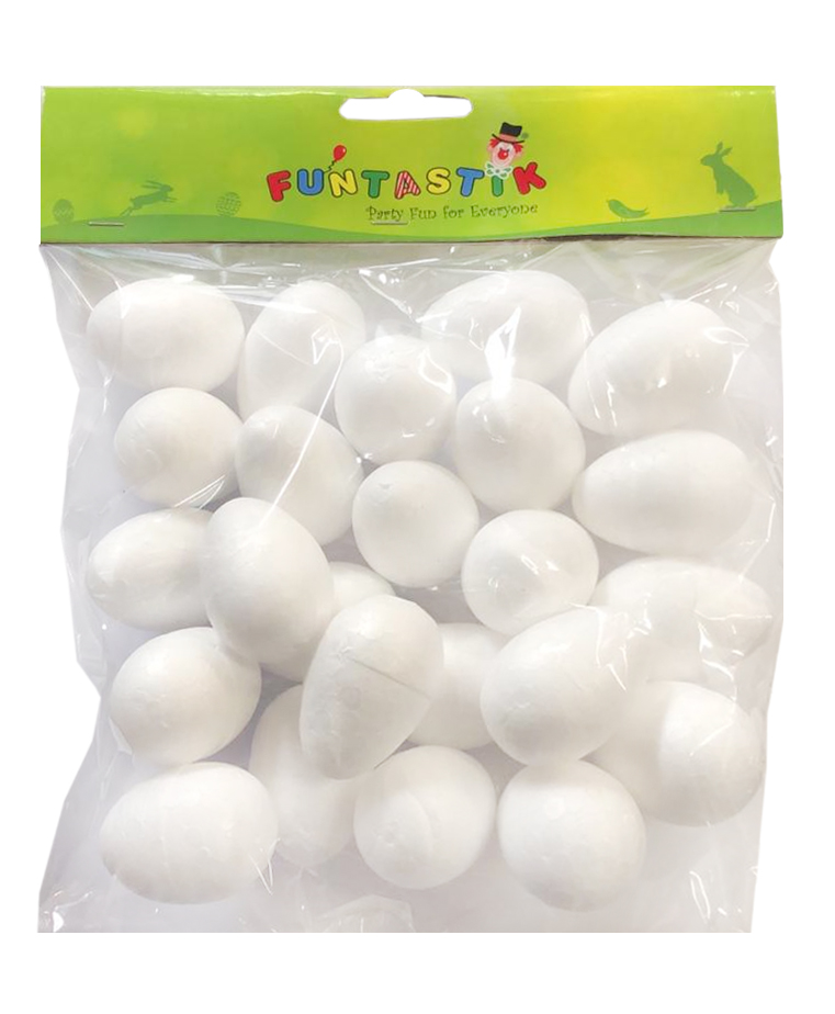 Foam Eggs (Pack of 24)