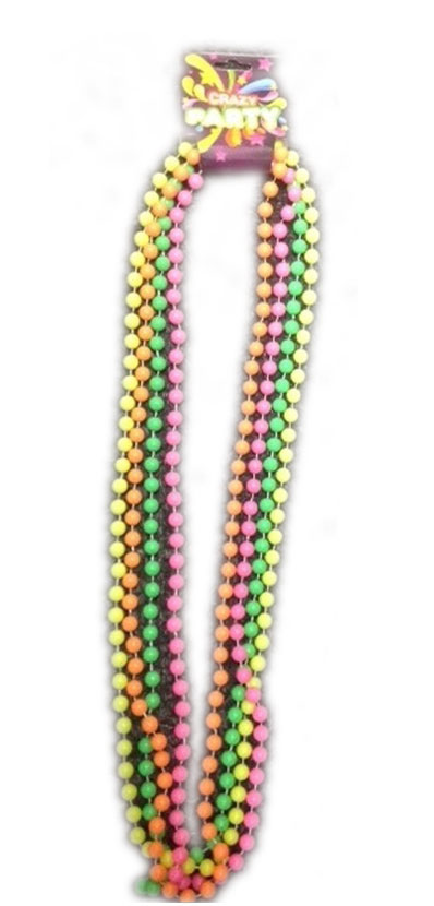 4 Colours Beads Necklace