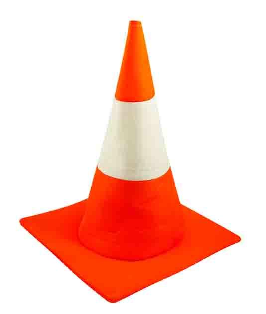 Adult Traffic Cone Hat