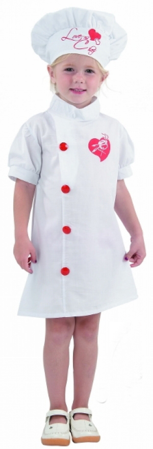 chef girl toddler costume. Black Bedroom Furniture Sets. Home Design Ideas
