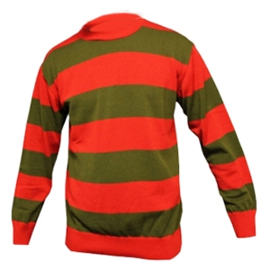 Children Red & Green Stripe Knitted Jumper