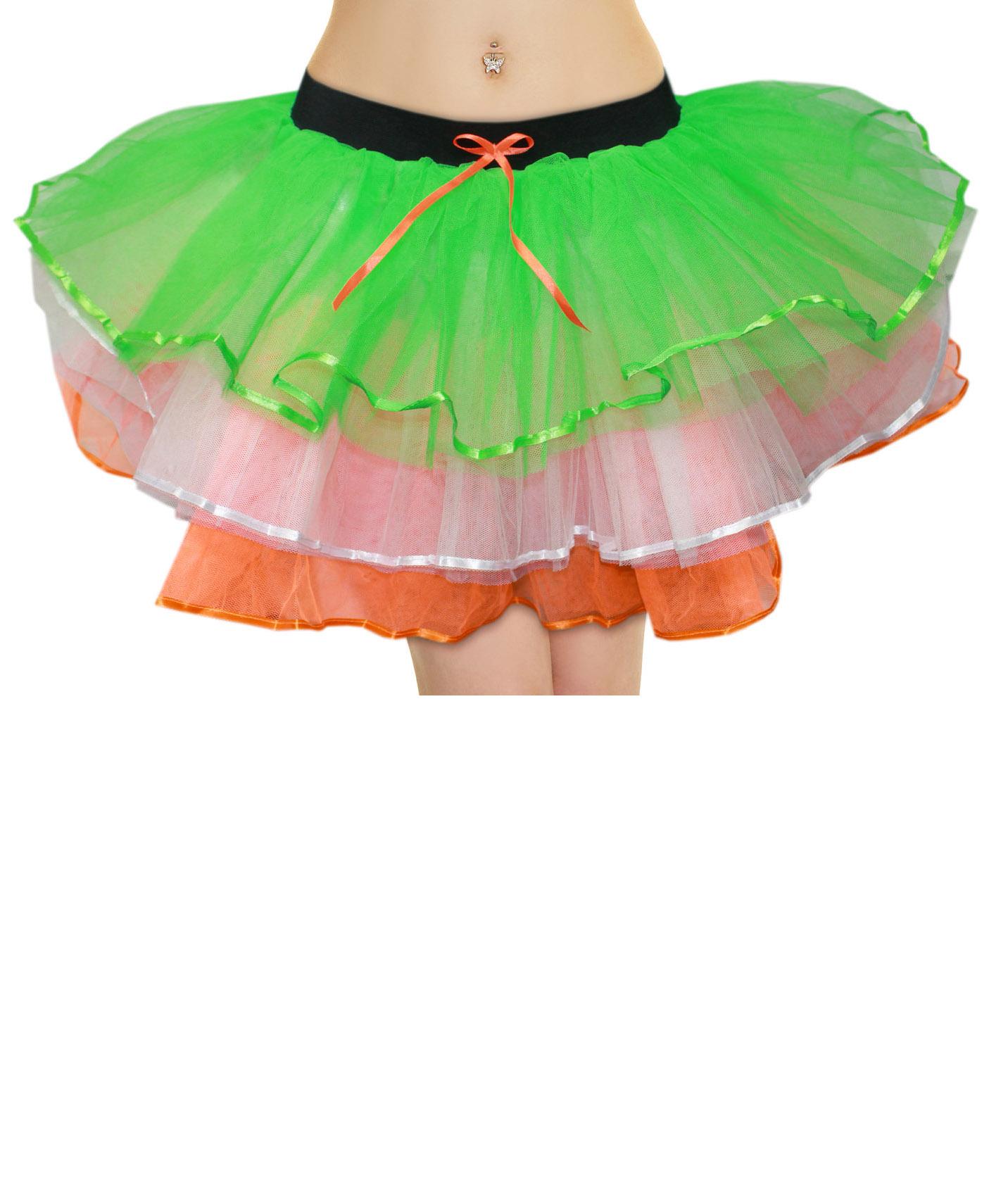 Crazy Chick 6 Layers Irish TuTu Skirt