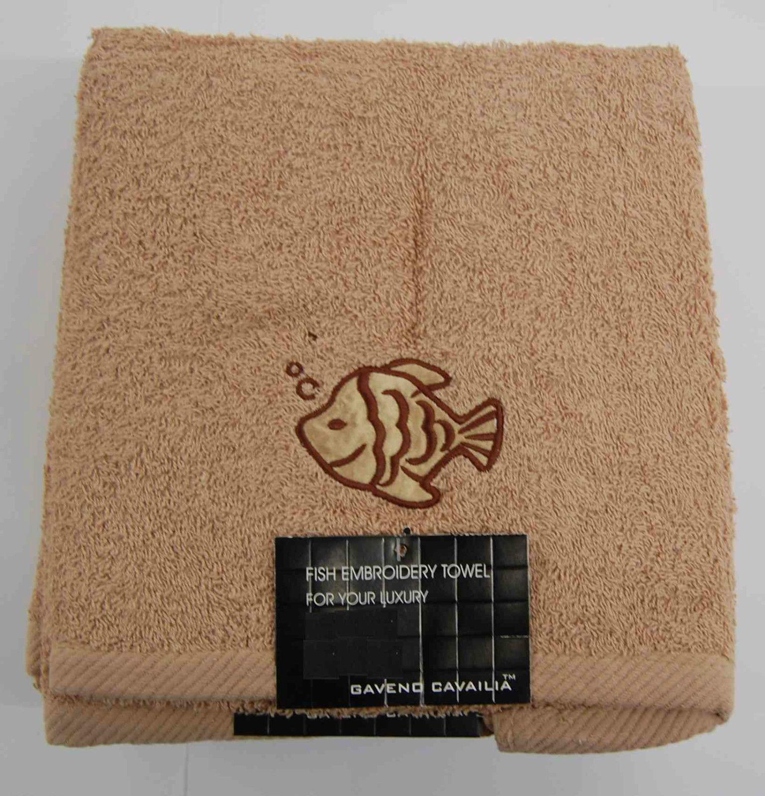 Fish Hand Towel-Natural