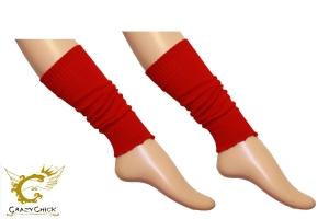 Girls Red Leg Warmer