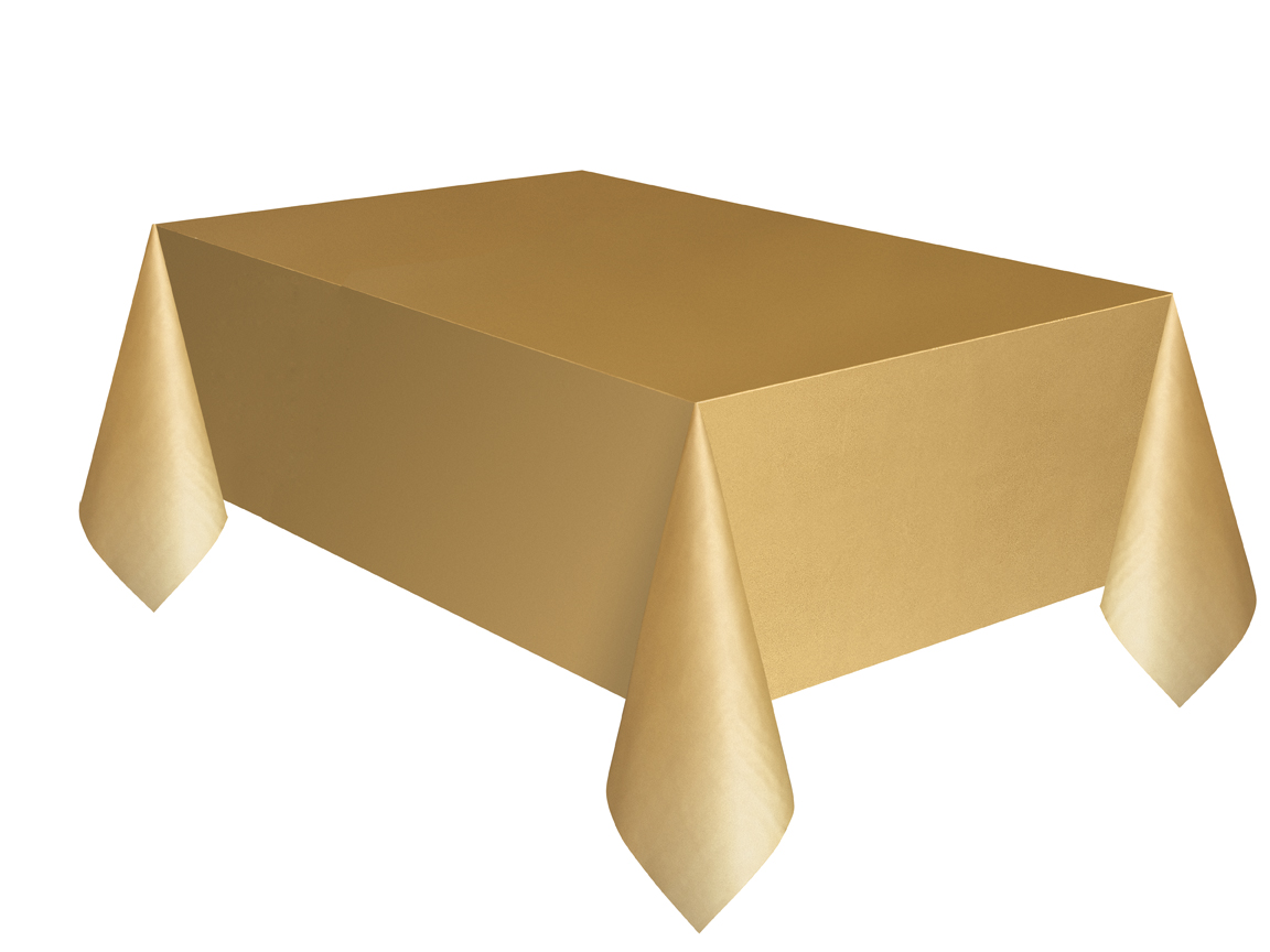 Gold Plain Table Cover