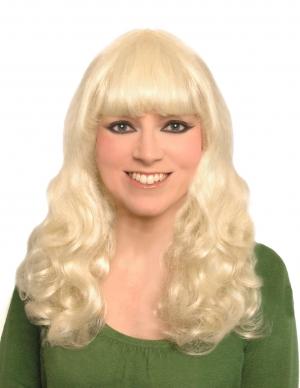Blonde Curly Halloween Wigs 90