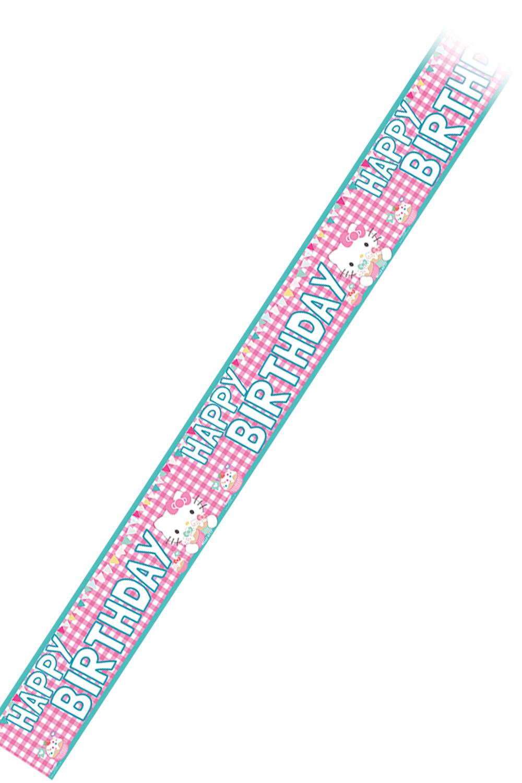 Hello Kitty Foil Banner