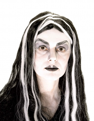 Mortisha with Streaks Wig