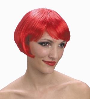 Super Model Red Wig