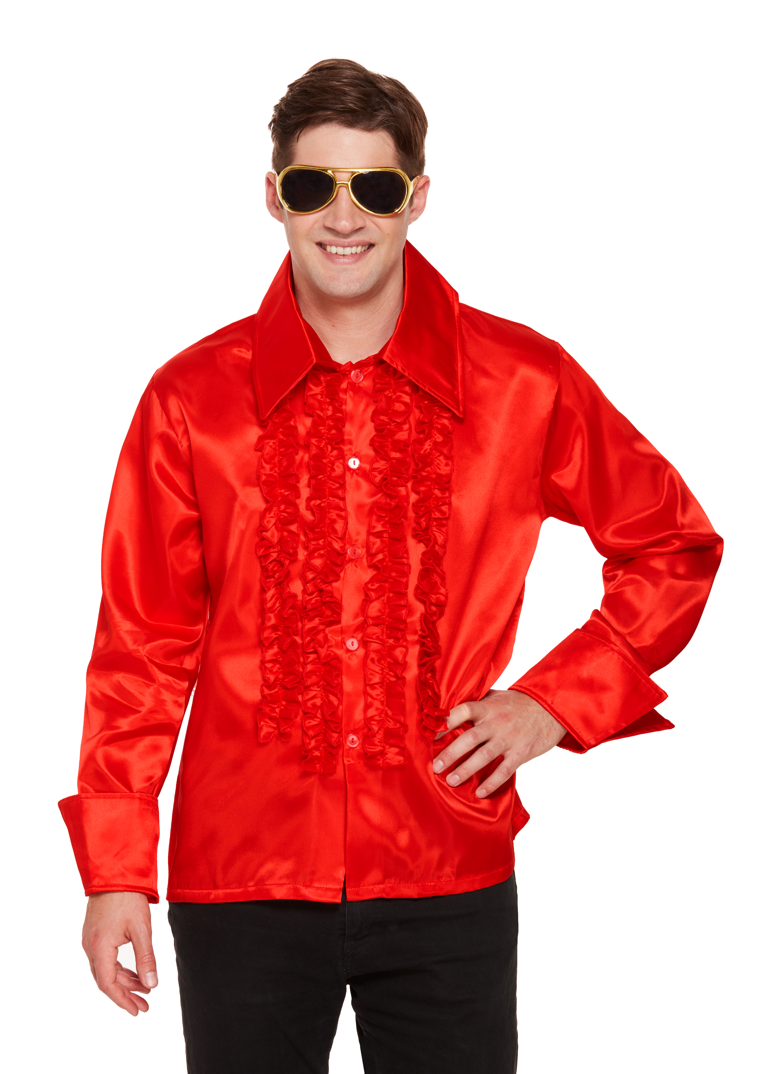 Adult Disco Red Shirt