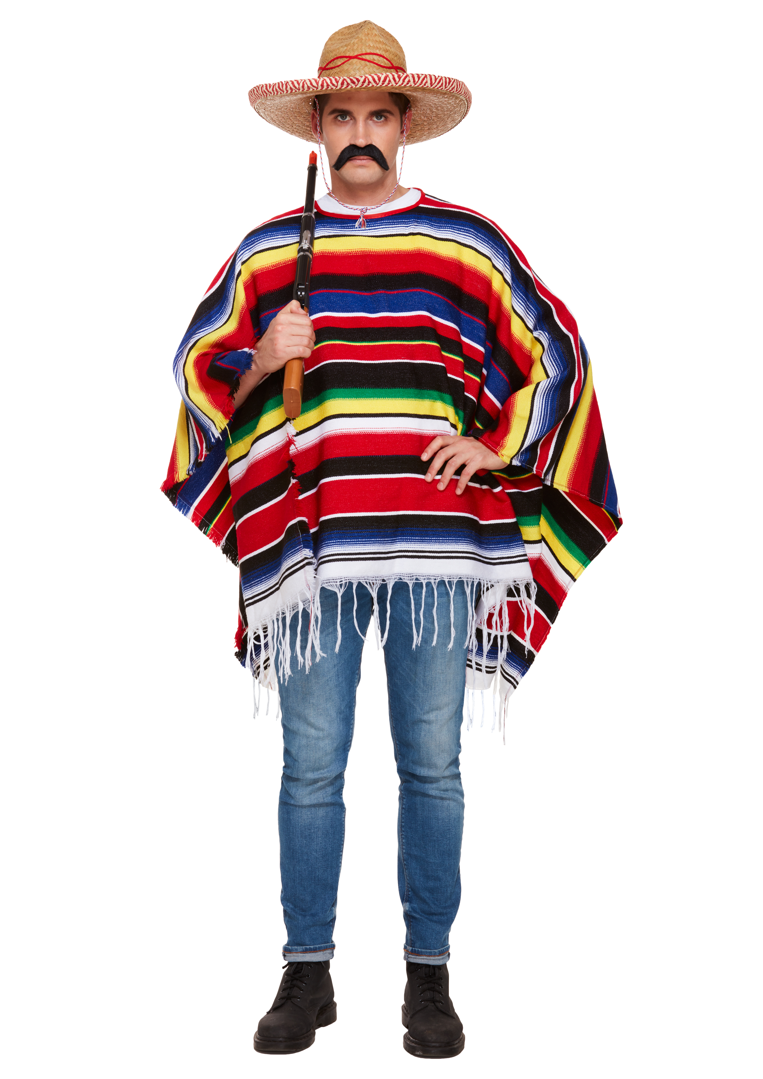 Adult Poncho Deluxe Costume