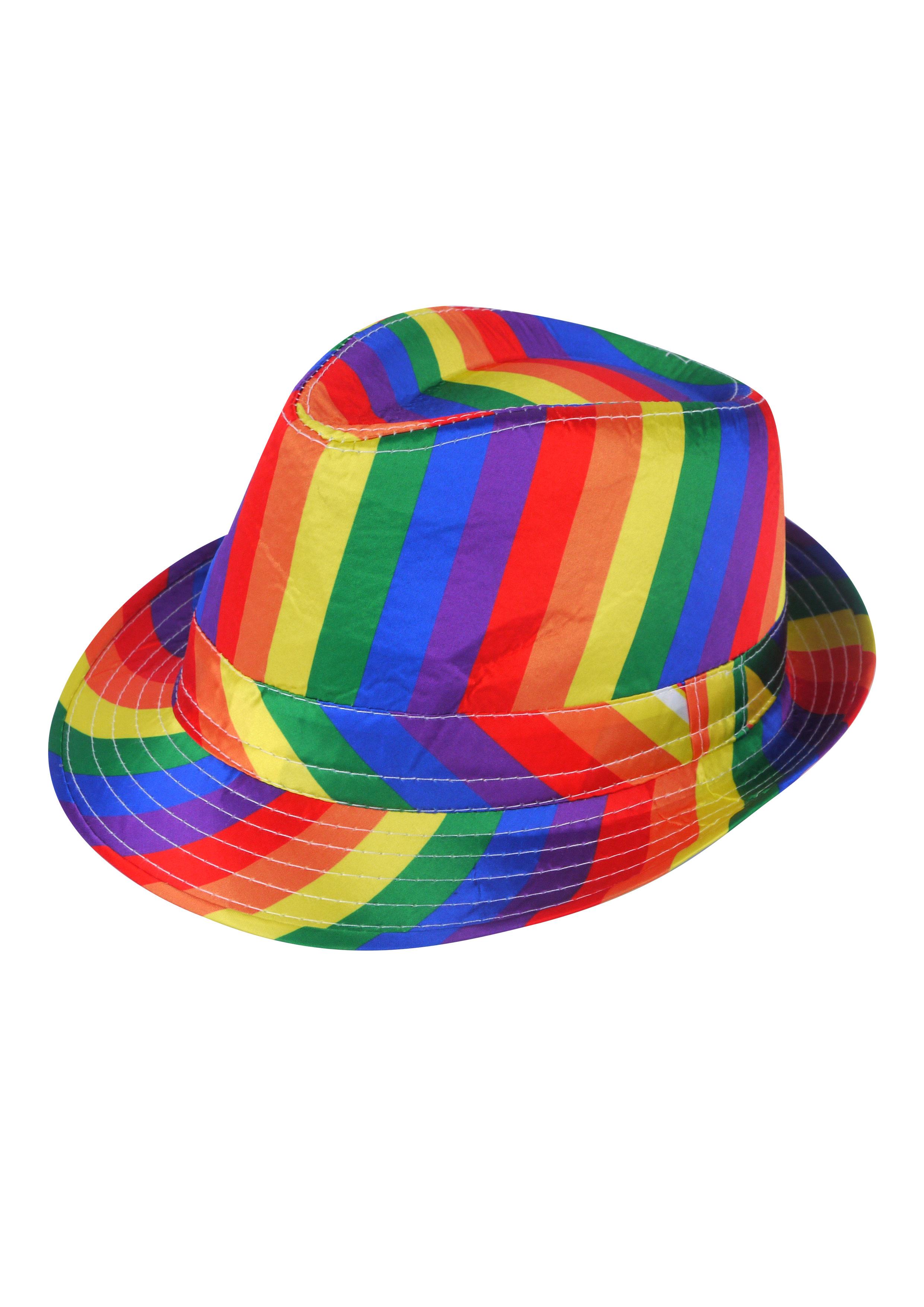 Adult Pride Sequin Gangster Hat