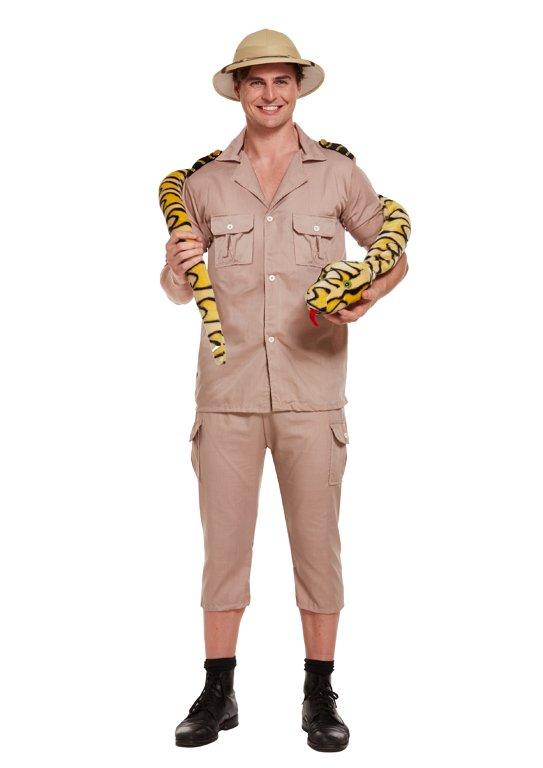Adult Safari Explorer Fancy Dress Costume