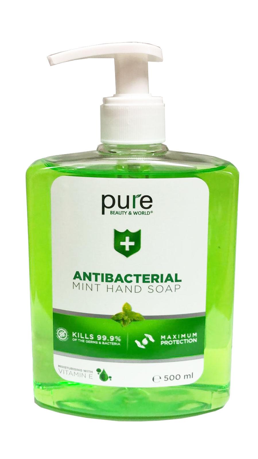 Antibacterial Mint Hand Soap (500ml)