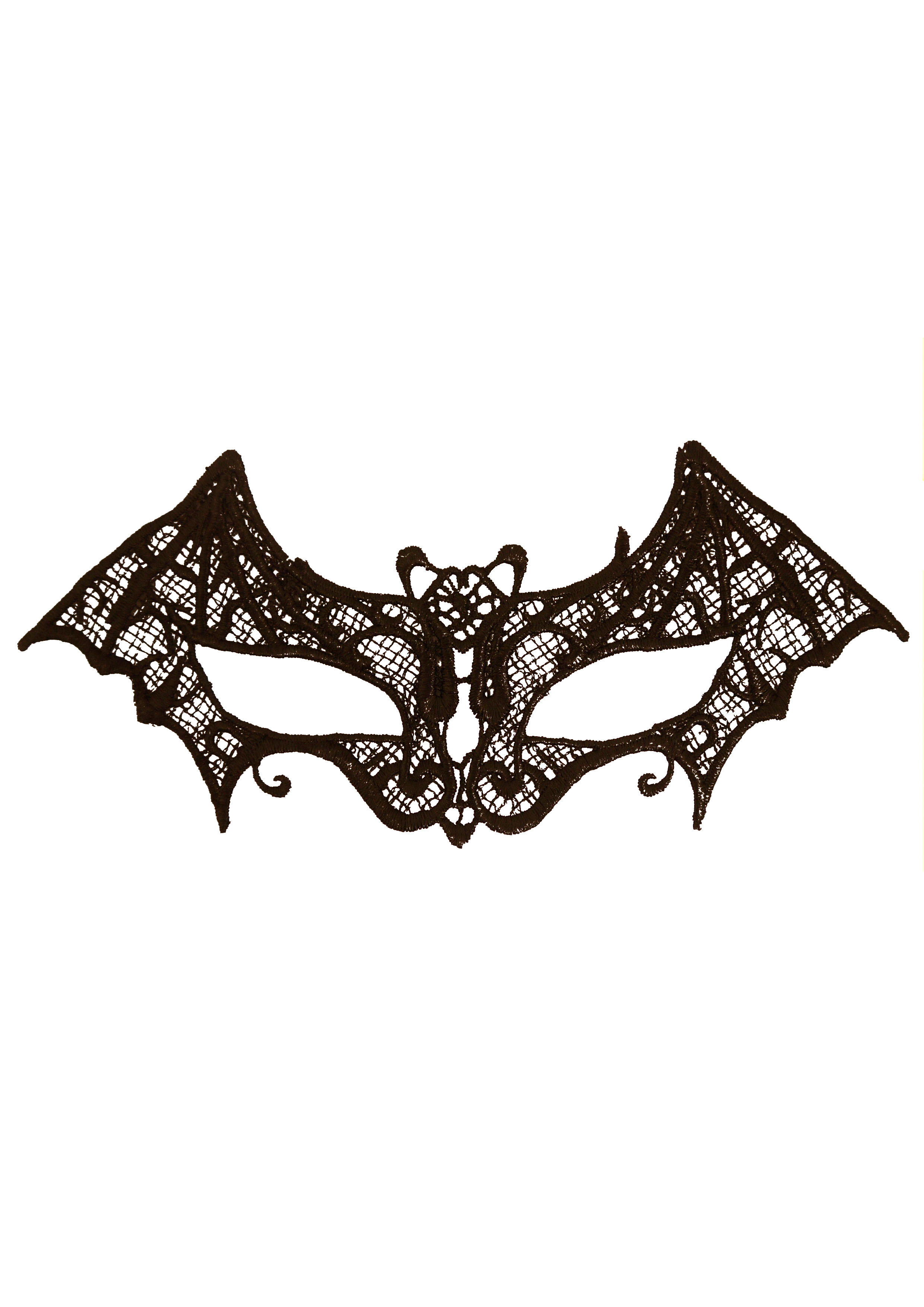 Bat Black Lace Eye Mask