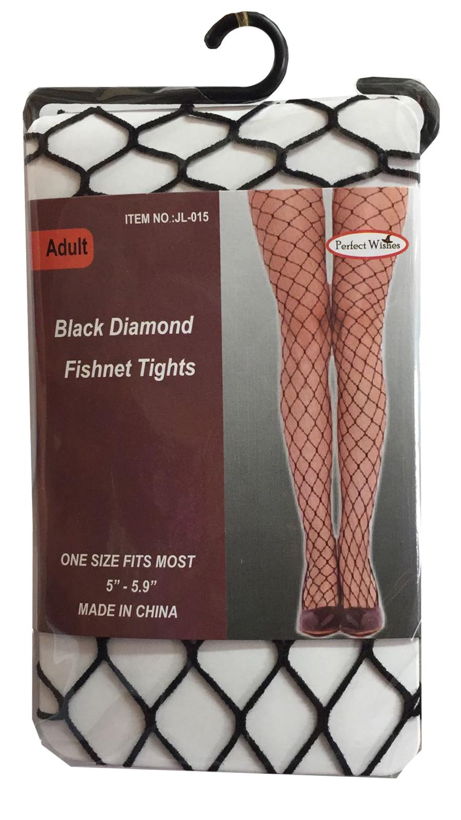 Black Diamond Fishnet Tights