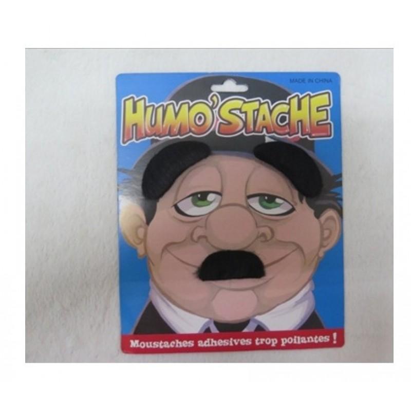 Black Mustache Set (Carded)