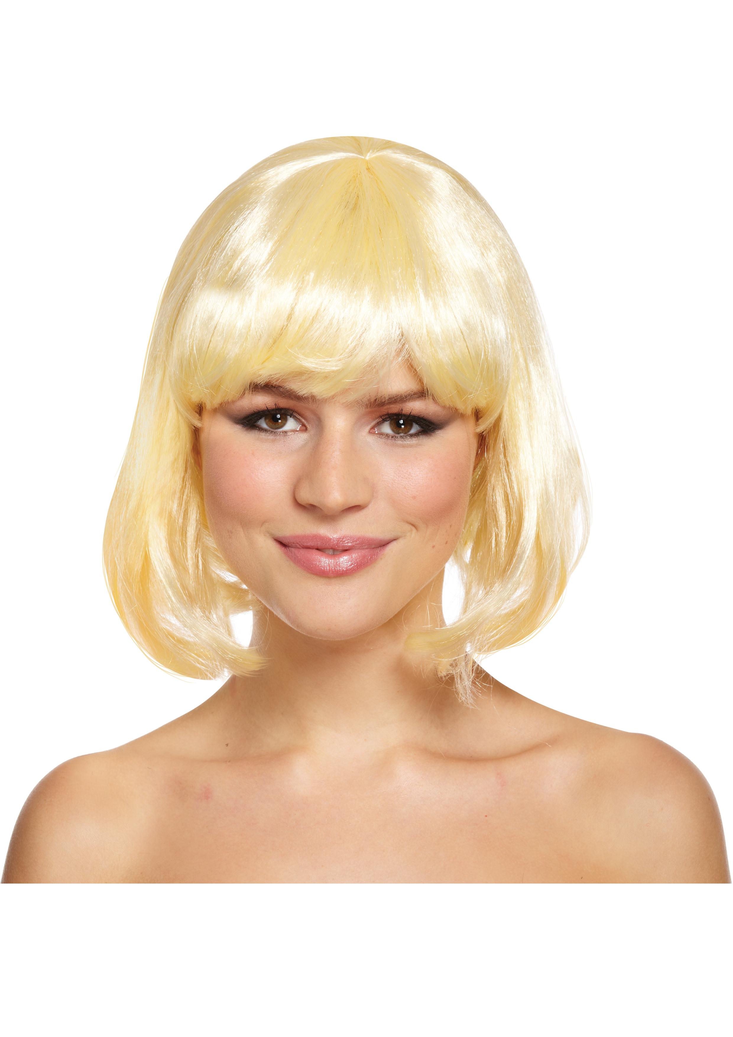 Blonde Mid Wig 120g