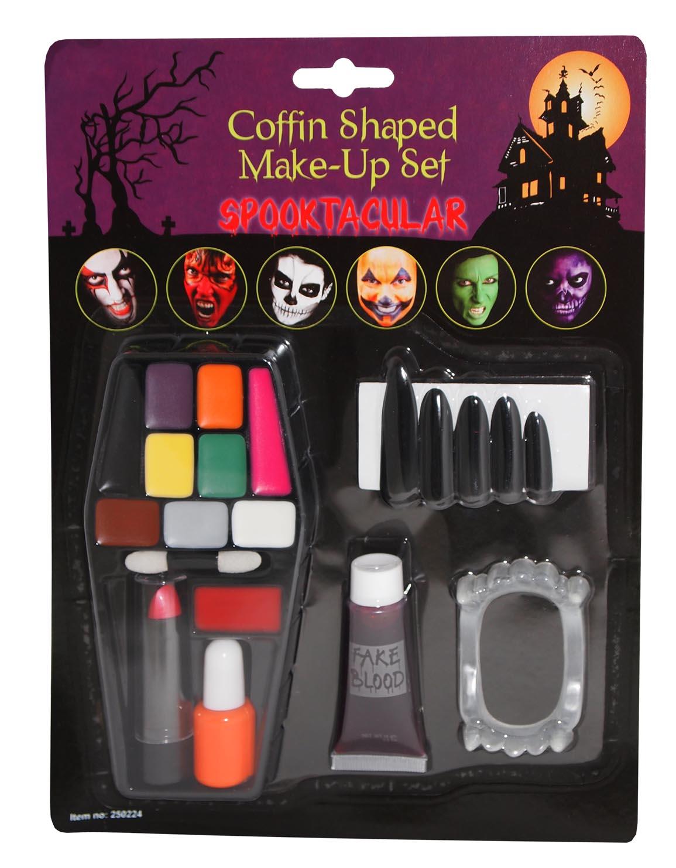 Casket Makeup Set - Makeup Set Halloween