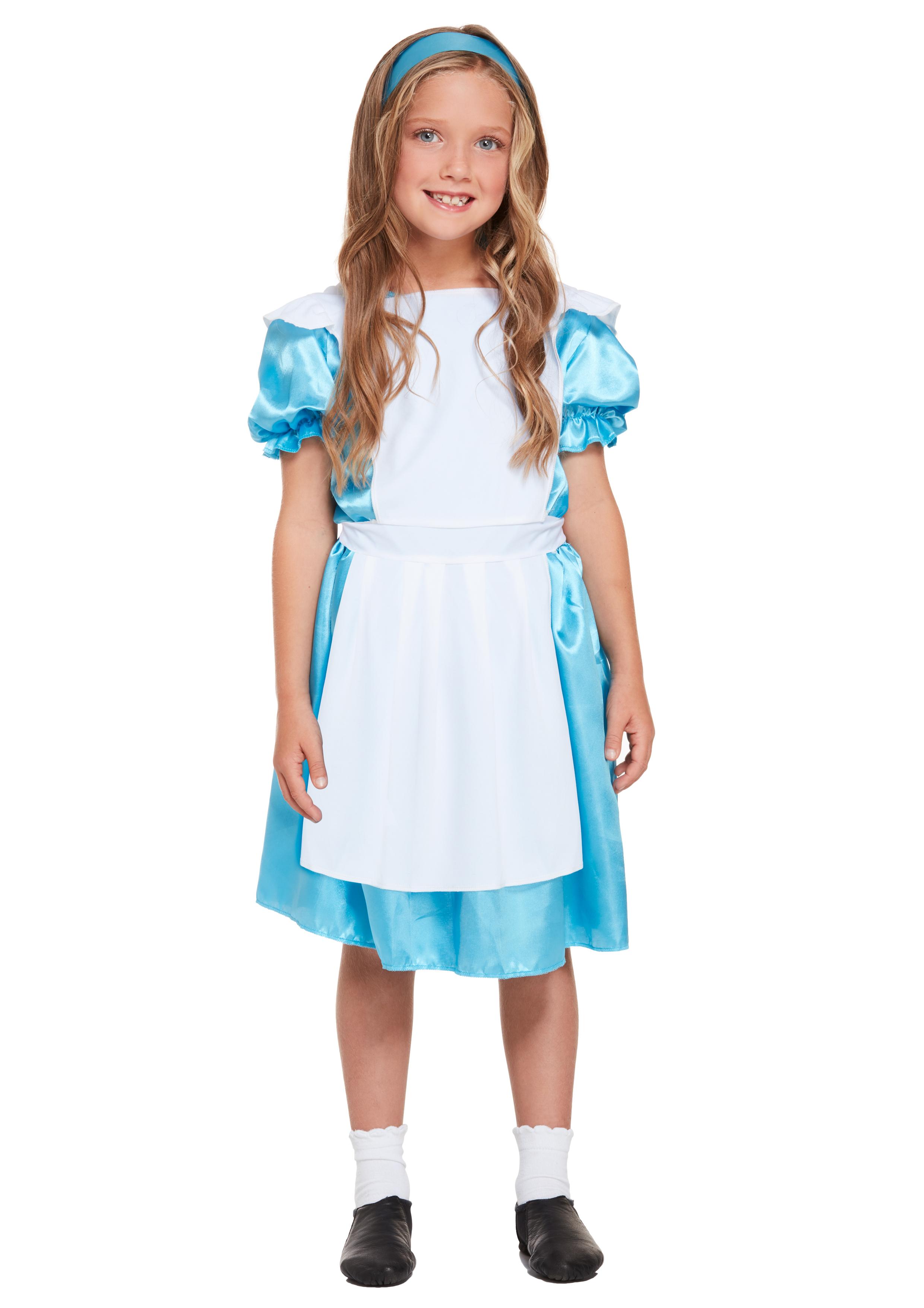Girls Alice Costume