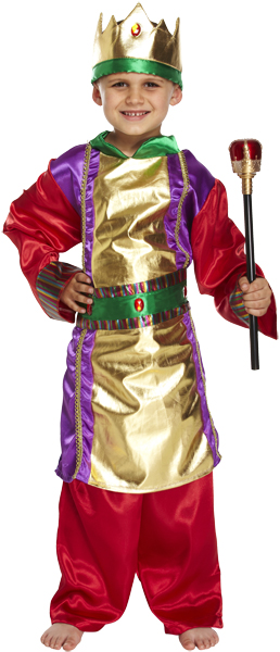 Children King Costume