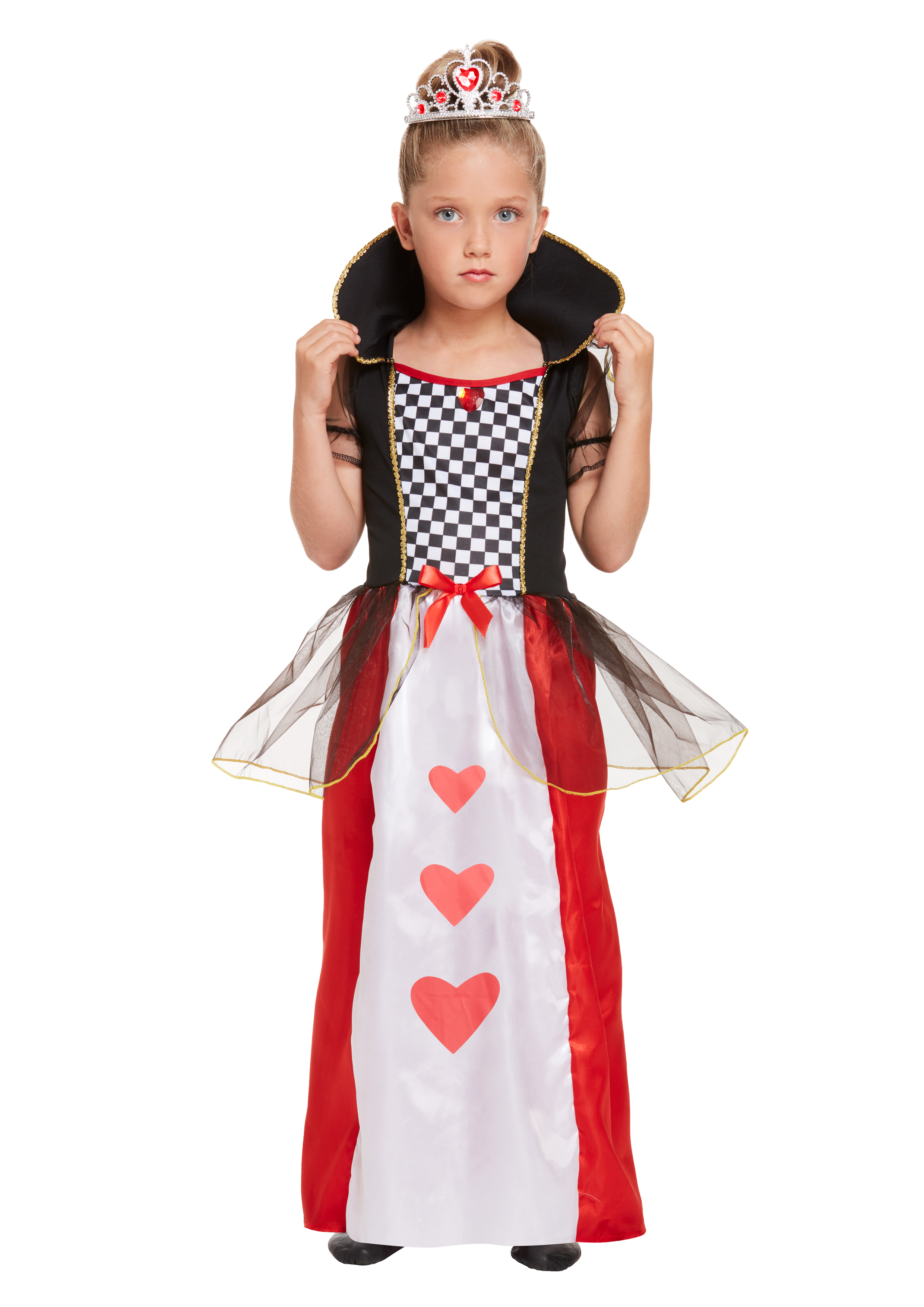 Children Queen Of Hearts Costume
