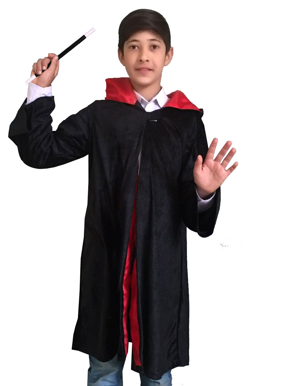 Children Wizard Boy Cape