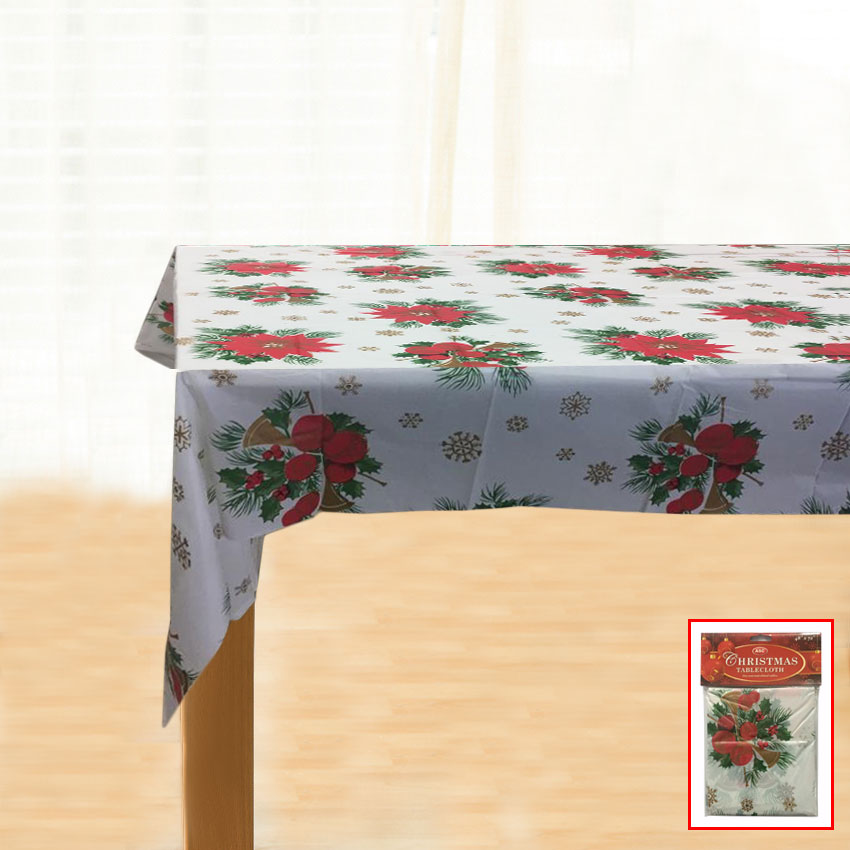 Christmas Table Cover White