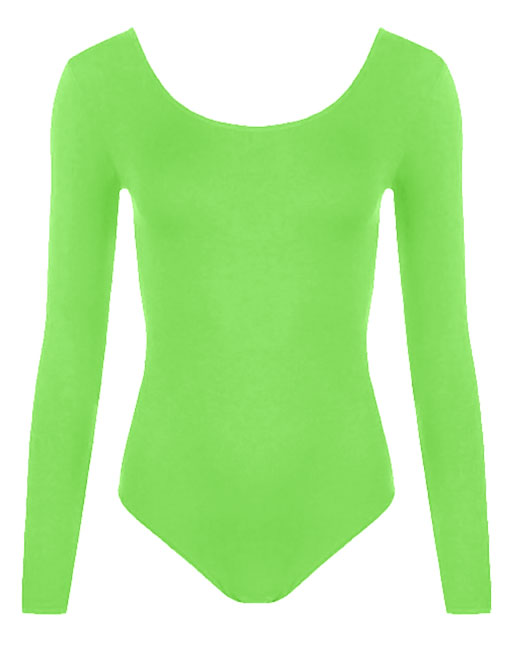 Crazy Chick Girls Green Leotard