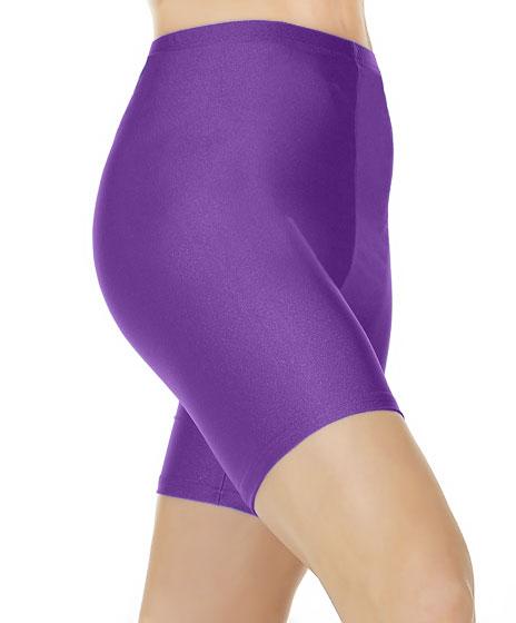 Crazy Chick Girls Purple Cycling Shorts