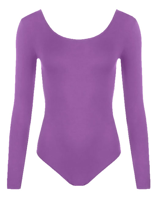 Crazy Chick Girls Purple Leotard