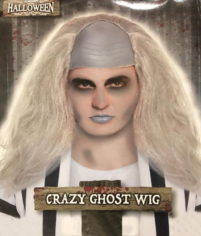 Crazy Ghost Male Wig 130G