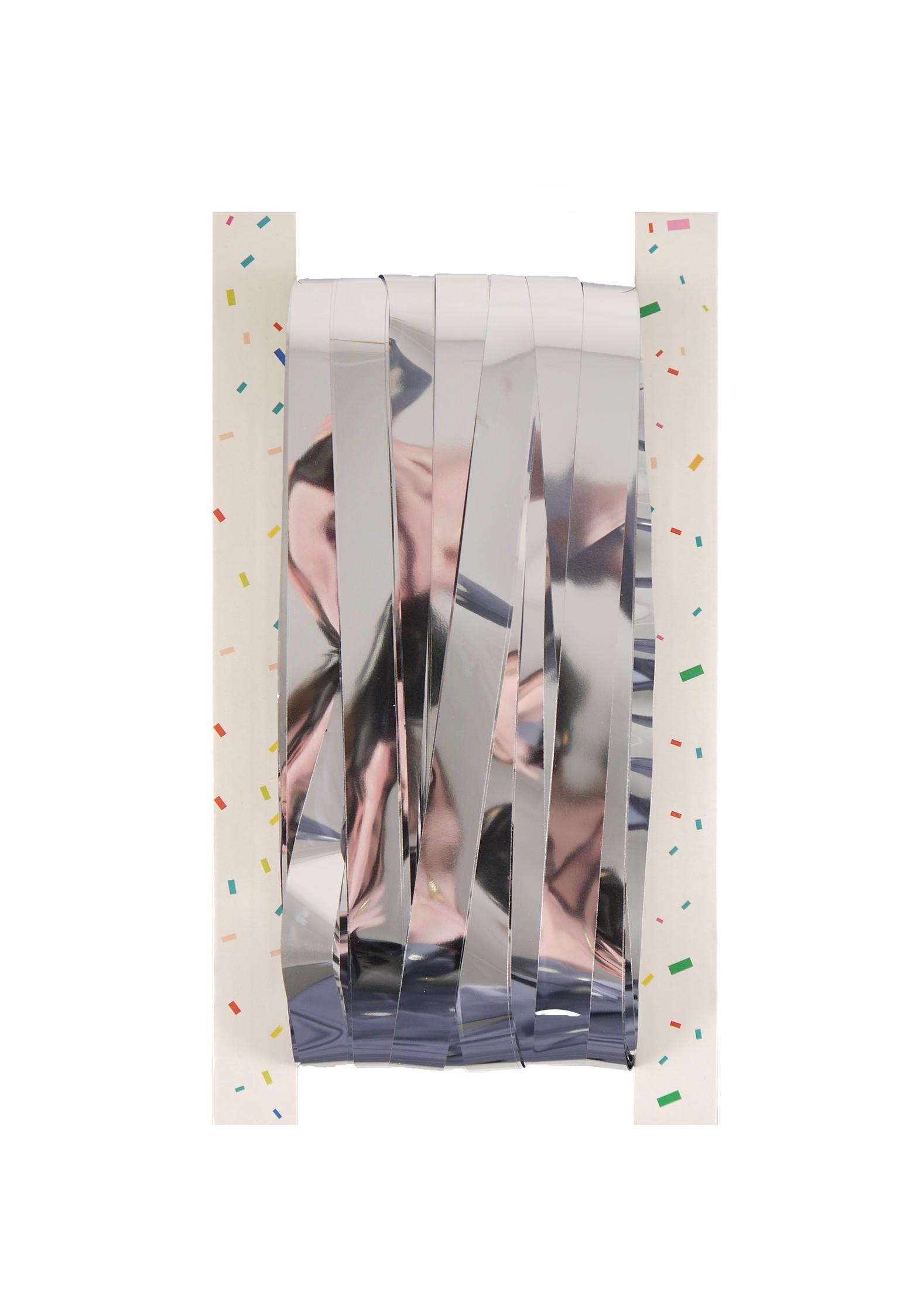Curtain Door Foil Silver 1.2cm Cut 92 X 244cm