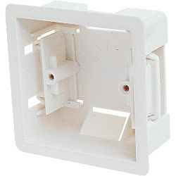 Dencon 1 Gang Dry Lining Box. 36mm Deep - Pack Of 10