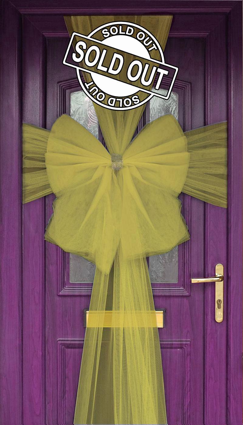 Eleganza Door Bow Gold