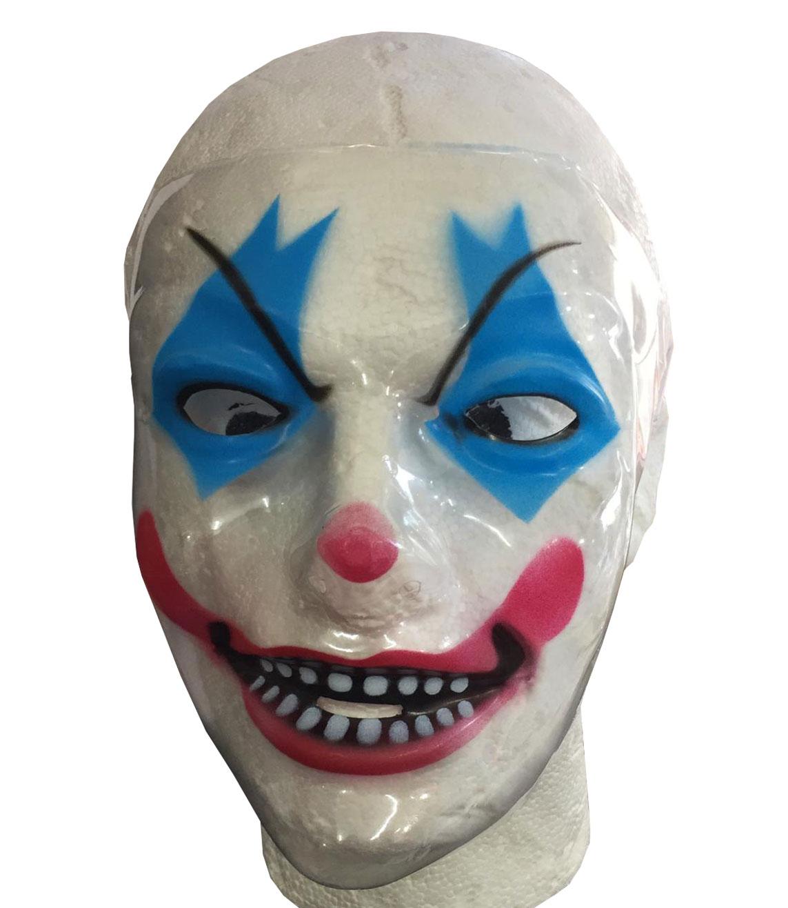Halloween Clown Plastic Face Mask
