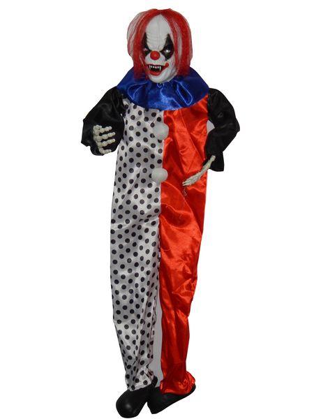 Hanging Clown Light Up 90cm