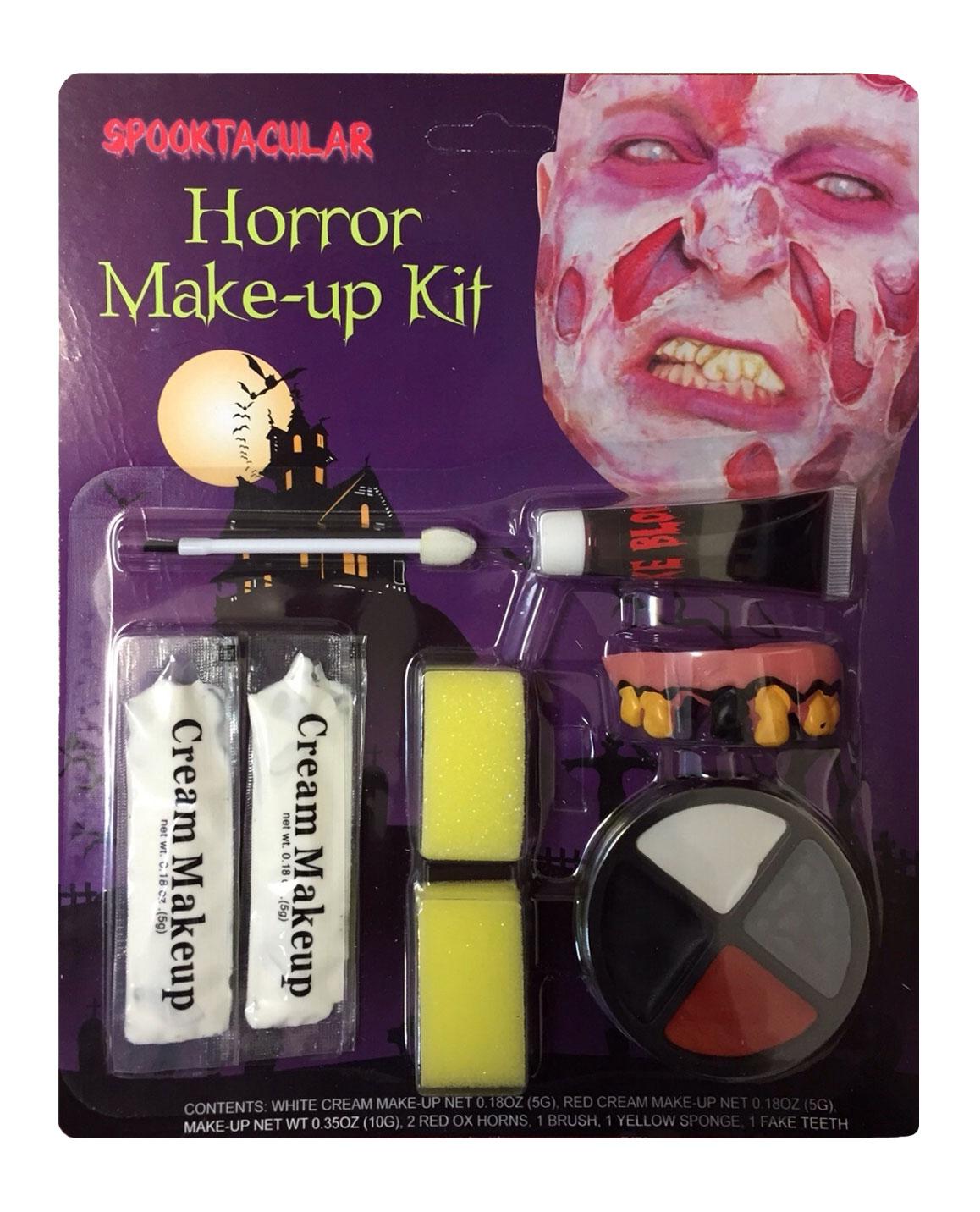 Zombie Horror Make up Kit