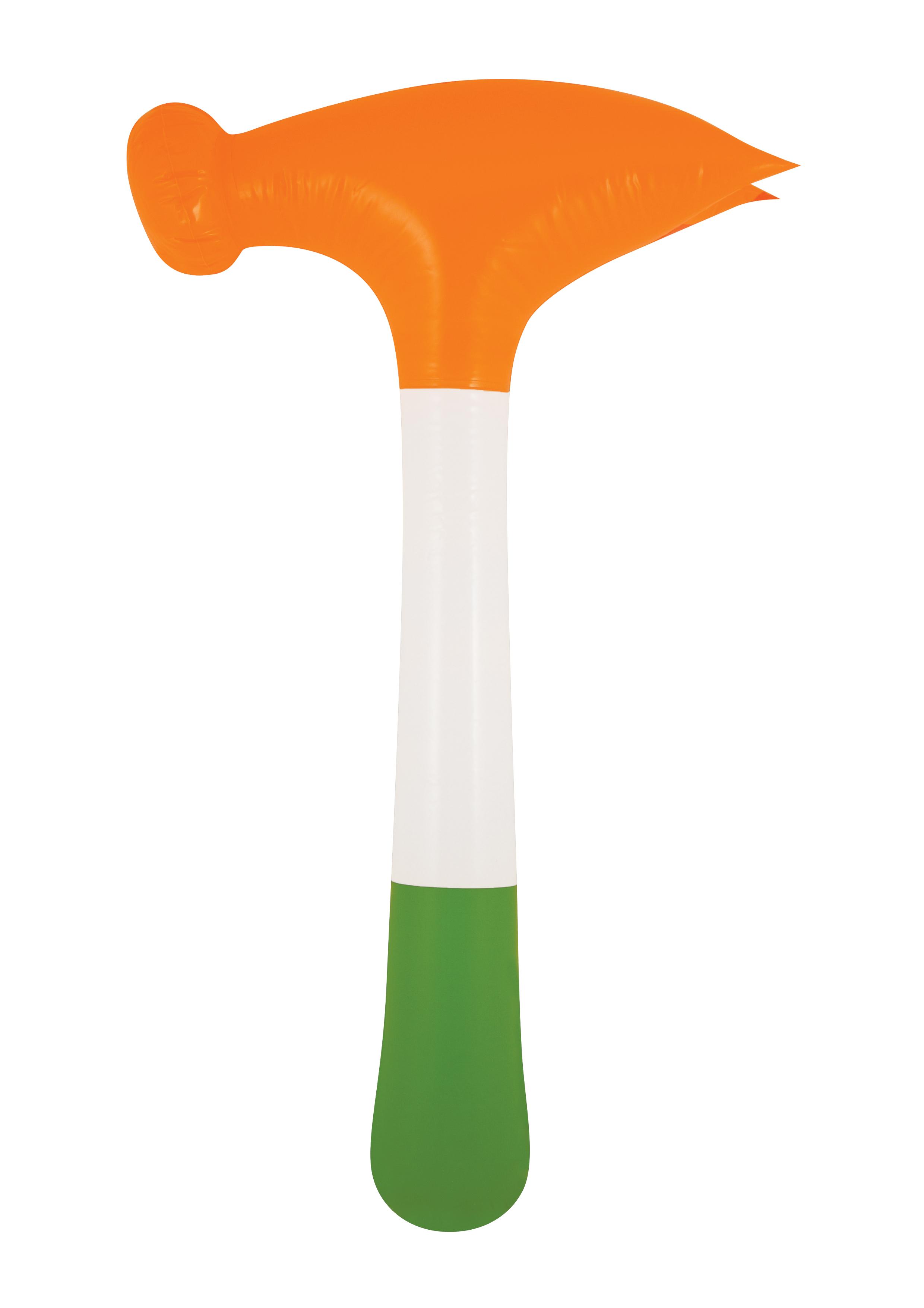 Inflatable Hammer Irish Tri Colour 60cm