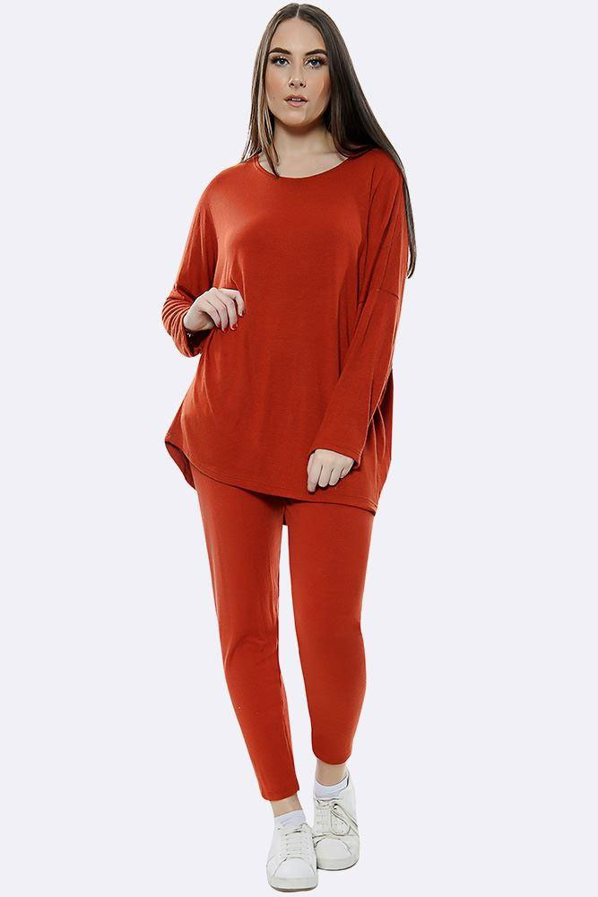 Italian Plain Tracksuit Red