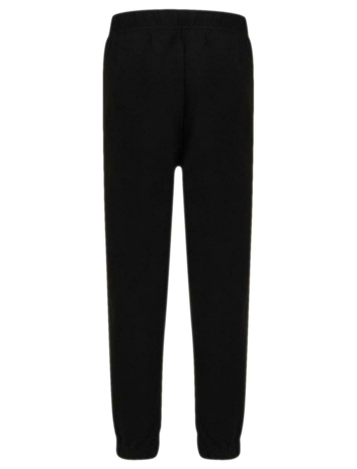 Kids Fleece Trouser Black