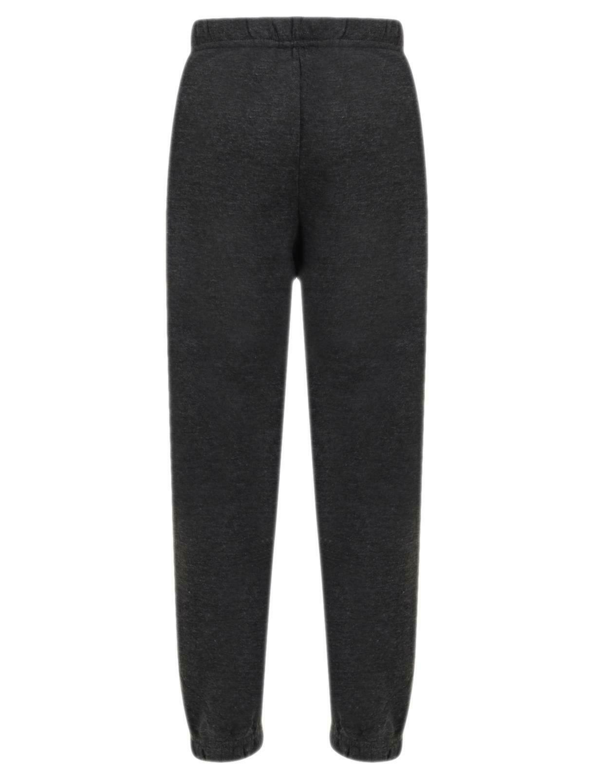 Kids Fleece Trouser Charcoal
