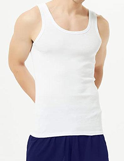 Men Vest Top Comfortable Cotton